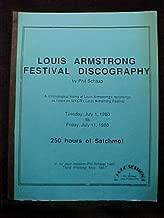 Louis Armstrong Festival Discography
