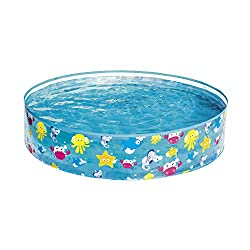 Colourful and child friendly sea creature design with lots of fun characters Easy to set up - no tools required - simply fill with water and you will be ready to go Useful for setting up at a short notice - ideal for hot summer days Rigid and durable...