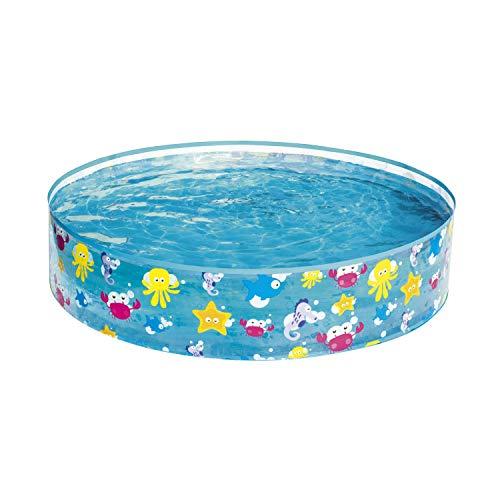 Bestway 55028 - Piscina Infantil Fill N' Fun Sparkling Sea 122x25 cm