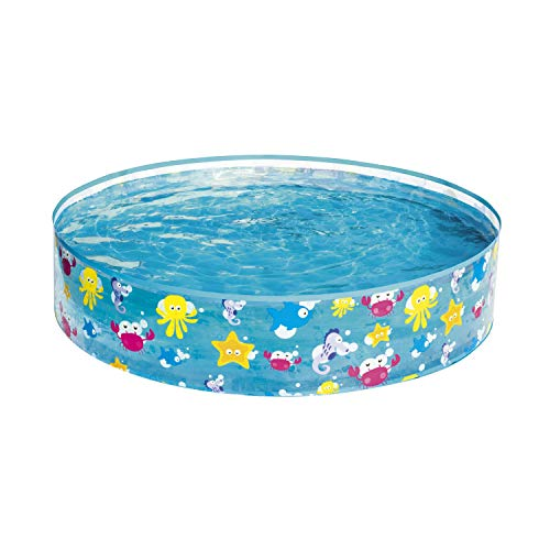 Bestway 55028 - Piscina Infantil Fill N' Fun Sparkling Sea 122x25 cm