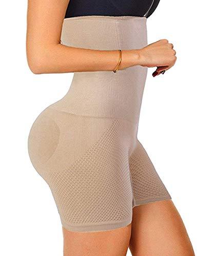 Damen Shapewear Miederhose Bauch Weg stark formend Miederpants mit Bein Taillenformer Body Shaper