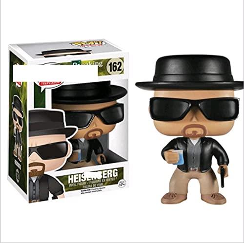 10Cm Pop Breaking Bad Heisenberg # 162 Pop Vinilo Figuras De Acción con Caja como Regalo De...
