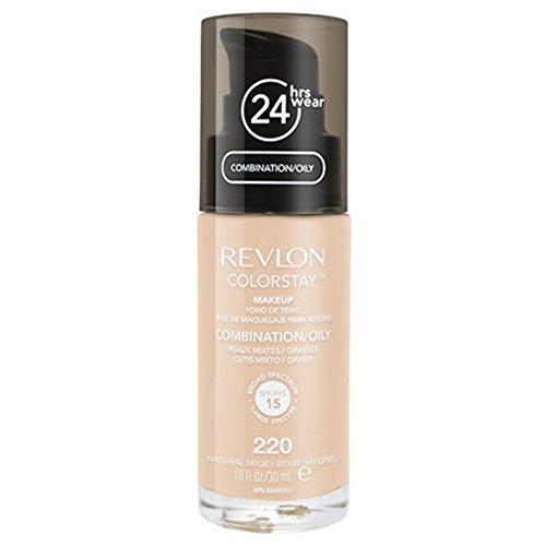 Revlon ColorStay Makeup for Combi/Oily Skin Natural Beige 220, 1er Pack (1 x 30 ml)