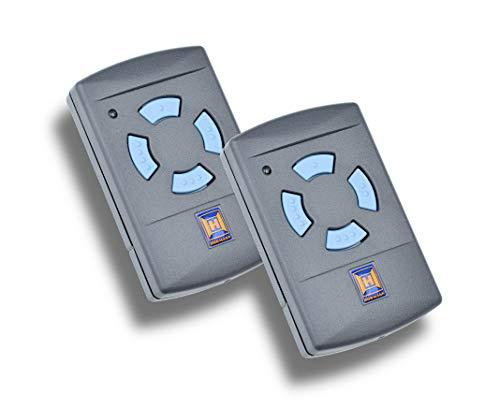 2 x Hörmann HSM 4 868 MHz Handsender - Fernbedienung - Garagentoröffner - Funk Sender