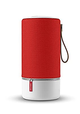 Libratone ZIPP Wireless Speaker (360 ° Sound, Wifi, Bluetooth, MultiRoom, Airplay 2, Spotify Connect, 10 hrs Rechargeable Battery)- Victory Red by Libratone