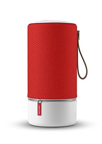 Enceinte sans fil Libratone ZIPP (son 360°, WiFi, Bluetooth, Multi-pièces, AirPlay 2, connexion Spotify, batterie rechargeable autonomie 10h) - Victory Red