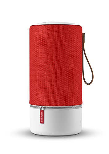 Libratone ZIPP Wireless Lautsprecher (360° Sound, Wlan, Bluetooth, MultiRoom, Airplay 2, Spotify Connect, 10 Std. Akku) victory red