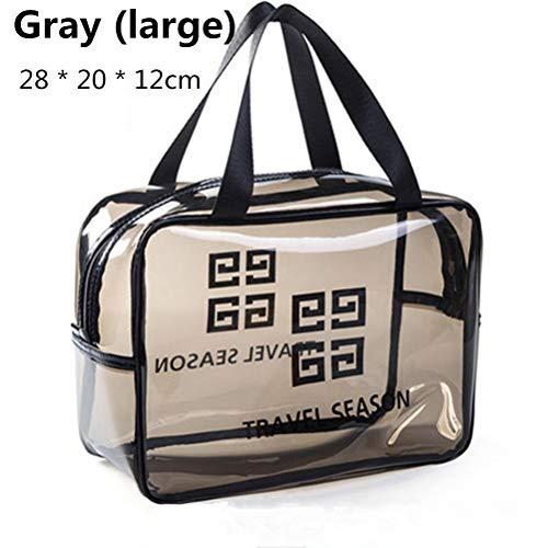 6P6 Net Red Cosmetic Bag Ins Wind Super Portable Femme Voyage Feu Grande Capacité De Lavage Transparent Sac Étanche Boîte De Rangement Sac,A3