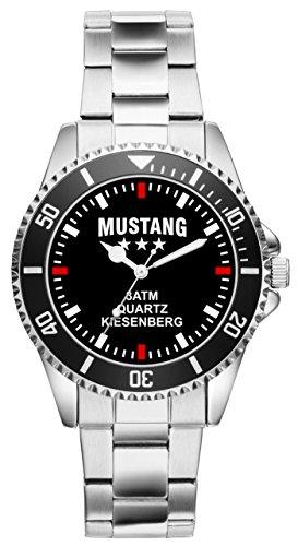 KIESENBERG Uhr - Geschenk für Mustang Fans Fahrer 2485