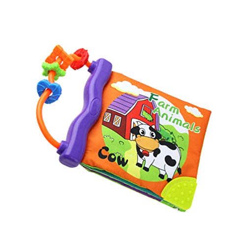 TOYANDONA 1pc Baby Book Early Learning Toy soft development