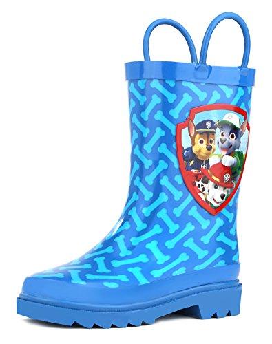 Paw Patrol Boys Blue Rain Boots - Size 5 Toddler