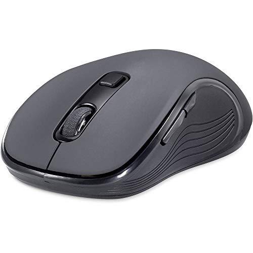 Renkforce RF-KMC-520 Kabellos Tastatur, Maus-Set Multimediatasten Deutsch, QWERTZ Black