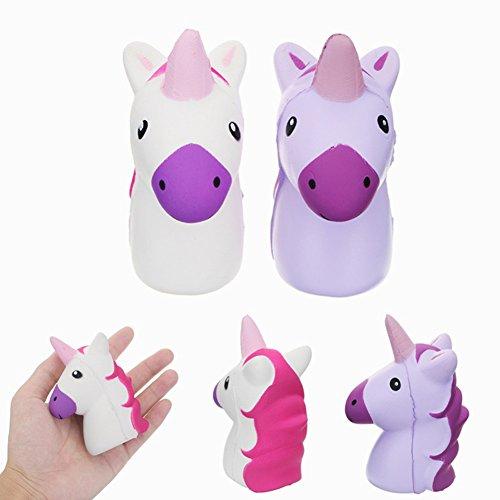 Squishy unicornio caballo suave lento regalo Navidad