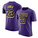 Camiseta NBA Lakers Lebron Raymone James Urban Manga Corta D-S