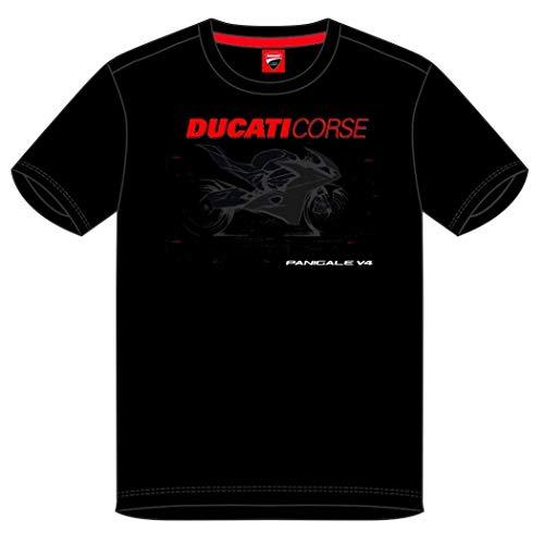 Ducati Corse 2019 Racing MotoGP Herren T-Shirt Panigale V4 Bike Design vorne