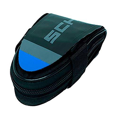 Schwalbe Werkzeug Rennrad-Satteltasche incl. SV15 Schlauch und Reifenheber Fahrradzubehör, schwarz, Einheitsgröße