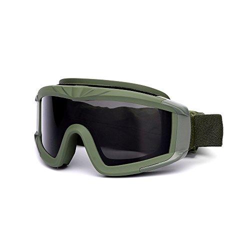 KKmoon Airsoft Goggles Schießen Gläser Motorrad Winddicht Wargame Brille