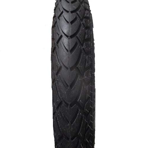 Rubena Semi Slick Tread Pushchair Tyres - Schwarz, 12.5 x 1.75/2.25 -Inch