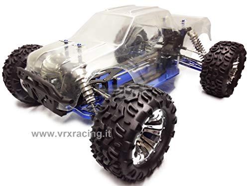 VRX Monster Truck Upgrade 1/10 Interamente assemblato in Carbonio ed ergal