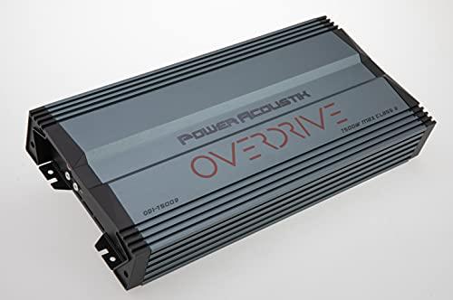 Power Acoustik OD1-7500D Overdrive Series 7,500w Class D Monoblock Amplifier