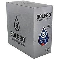 Bolero Bebida Instantánea sin Azúcar, Sabor Bayas - Paquete de 24 x 9 gr - Total: 216 gr