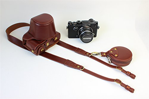 Zakao - Funda para cámara Olympus PEN-F, con correa y mini bolsa...