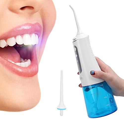 Limpiador de dientes, irrigador bucal seguro Exacto Extraíble Cómodo con 4 modos para sangrado de encía