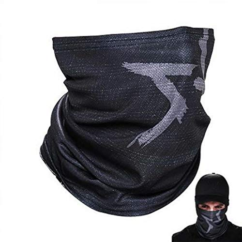 Watch Dogs Aiden Pearce Bandana Face Mask, WD2 Game Tube Mask Halloween Cosplay Costumes Party Props