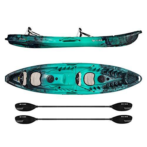 Vibe Kayaks Two Person Sit On Top Fishing Kayak