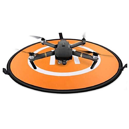 Sipobuy Plataforma De Aterrizaje Universal Plegable Portátil Impermeable para Drones, Helicóptero para Drones RC Aplicable, Drones PVB, dji Mavic Pro Phantom 2/3/4 Pro, Antel Robotic, 3DR Solo (75cm)