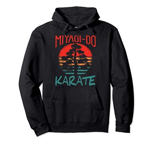 Vintage Miyagi-Do Karate Bonsai Tree Pullover Hoodie