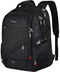 Large Capacity & Multiple Pockets: Laptop travel backpack compartment with padded sleeve for 15.6,17 Inch Macbook/Computer/Notebook computer. 2 spacious main compartments with many hidden pockets can accommodate lots of stuffs. Lots of pockets and of...