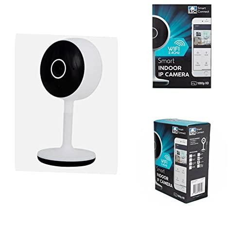 LSC Smart Connect - Cámara de vídeo para interiores (Wi-Fi, IP, 1080p, HD)