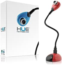 HUE HD Portable USB Camera (Red)