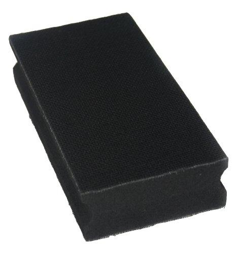 bloque de lijado mano 70x125mm - ambos lados para el disco de lijado de velcro - Lijado bloque para lijado a mano con papel de lija- DFS
