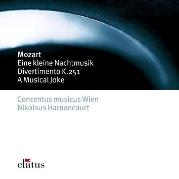 Mozart : Serenade No.13, 'Eine kleine Nachtmusik', Divertimento No.11 & A Musical Joke