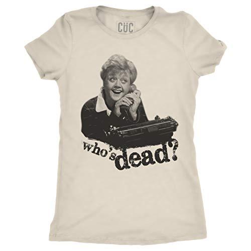 CUC T Shirt Donna Divertenti - Jessica Fletcher La Signora in Giallo - Maglietta Manica Corta Ragazza - Choose ur Color
