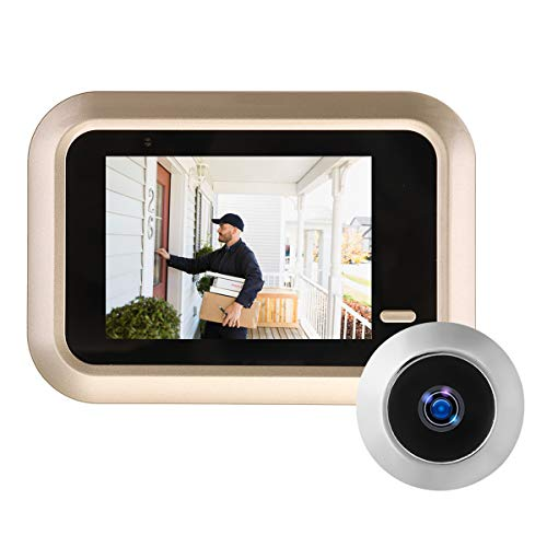 ILS - 2,4-inch LCD-digitale video deurbel Viewer Guckgat veiligheidsdeur-oog-monitoring camera