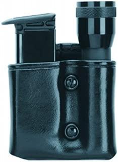 Gould & Goodrich B860 Single Magazine and Flashlight Pouch Streamlight Scorpion Leather Black