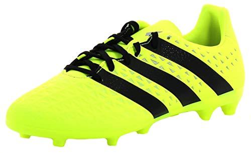 adidas Herren Ace 16.3 FG Fußballschuhe, Multicolore (SYELLO/Cblack/Silvmt), 46 2/3 EU