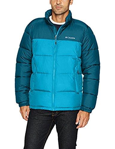 Columbia Men's Pike Lake Jacket, Large, Phoenix Blue/Dark Compass