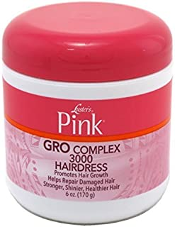 Luster's Pink Creme Hairdress Gro Complex 3000 6 oz. by Lusters