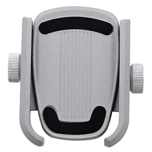 Shiwaki Soporte para Teléfono de Aleación de Aluminio para Vehículos Todo Terreno, Bicicletas y Otros Vehículos con de Espejo Retrovisor de 8-10 mm