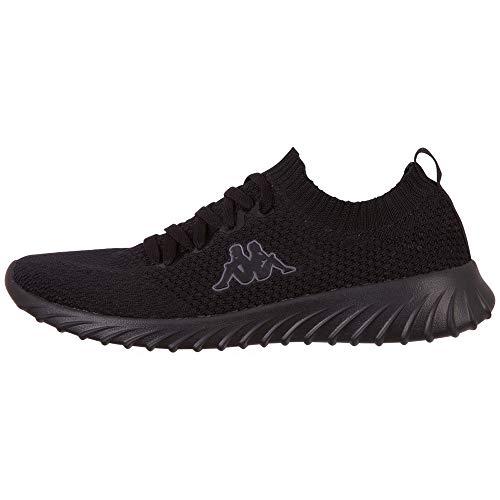 Kappa Unisex-Erwachsene SNEEM Sneaker, Schwarz (Black 1111), 43 EU, 43