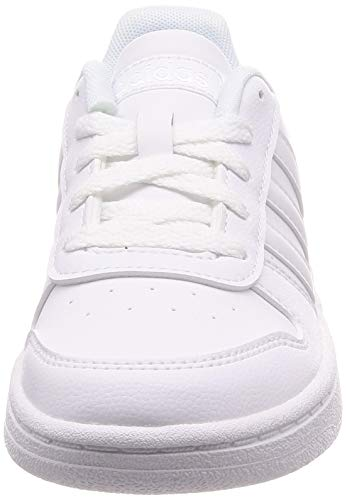 adidas Hoops 2.0 K, Zapatillas de básquetbol, Ftwbla Ftwbla Ftwbla, 36 EU