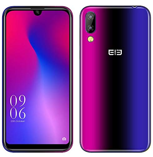 Elephone A6 Mini Android 9.0 4G Móvil Libre - MTK6761 2.0GHz 4GB + 64GB,5.7...