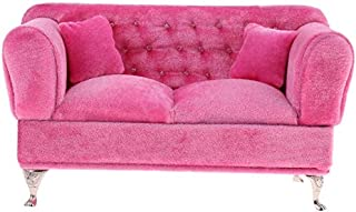for Dollhouse Living Room or Bedroom Decor CUTICATE 1//6 Scale Sofa Chair Openable 12inch Dolls Accessories Furniture for Blythe