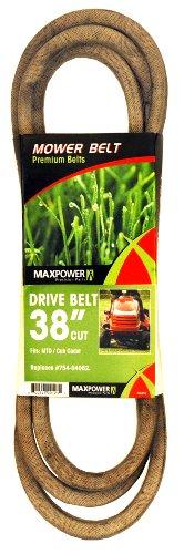 Maxpower 336350 Mower Belt for MTD, Cub Cadet and Troy-Bilt Models 754-04062 and 954-04062
