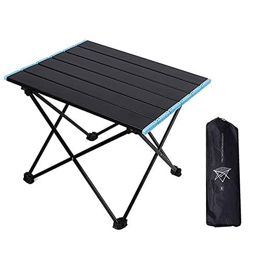 IWILCS Portatiles Plegable Ultraligero Mesa de Camping, mesas de Camping Plegables pequeñas...