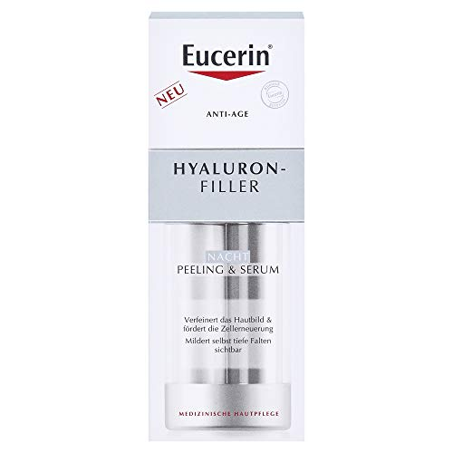 Eucerin Anti-Age Hyaluron-Filler Nacht Peeling & Serum, 30 ml Serum